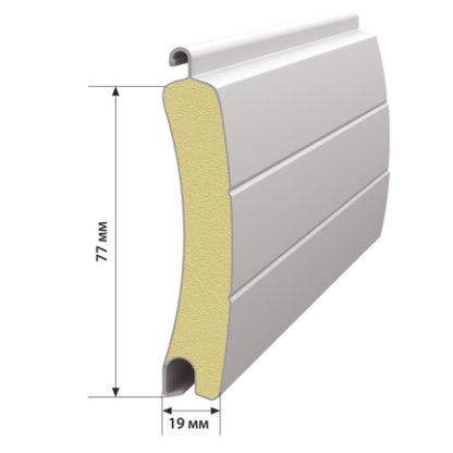 Профиль роллетный роликовой прокатки PD/77. Цвет-101 Ед.изм.-метр