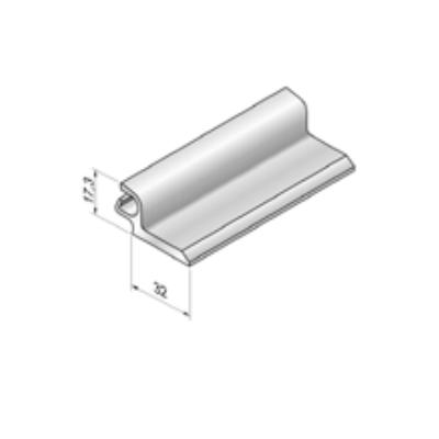 Профиль фиксирующий AEG84F Белая