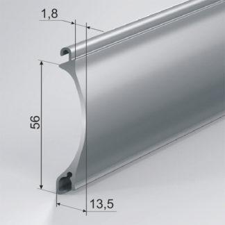 Профиль роллетный экструдированный AER56