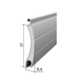 Профиль роллетный роликовой прокатки AR/377N