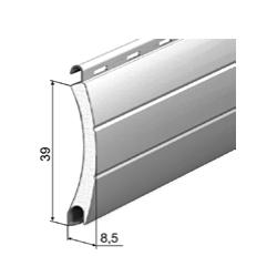 Профиль роллетный роликовой прокатки AR/39