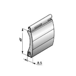 Профиль роллетный роликовой прокатки AR/45