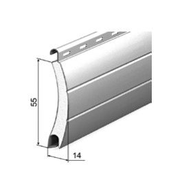 Профиль роллетный роликовой прокатки AR/555