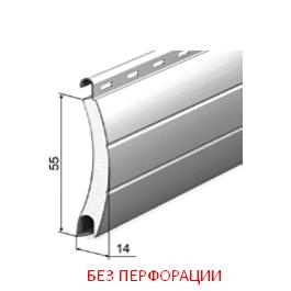 Профиль роллетный роликовой прокатки AR/555N