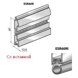 Профиль ригельный ESR60RI