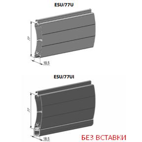 Профиль концевой универсальный ESU/77U