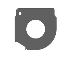 Пластина ограничительная GPU205/40