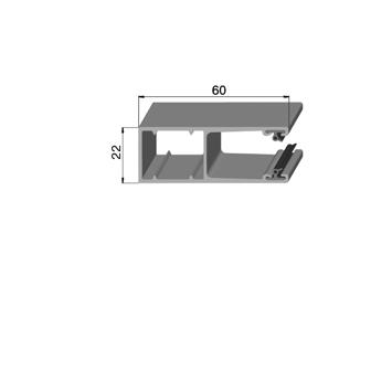 Шина направляющая GR60x21/SI