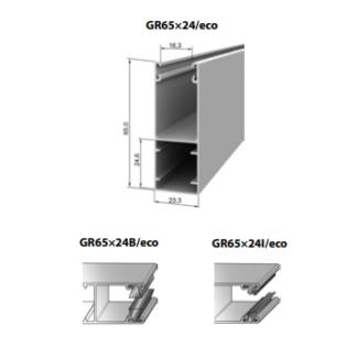 Шина направляющая GR65x24/eco