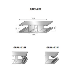 Шина направляющая GR79x22E