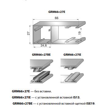 Шина направляющая GRM66x27E