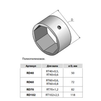 Кольцо дистанционное RD70