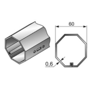 Вал октогональный RT60x0,8