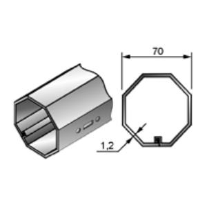 Вал октогональный RT70x1,2