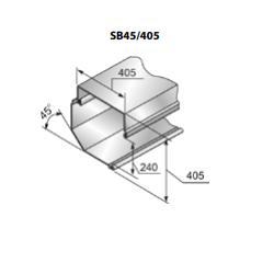 Короб защитный роллетный SB45/405