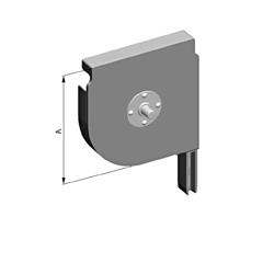 Крышка боковая роллетная SF-QR/150/D