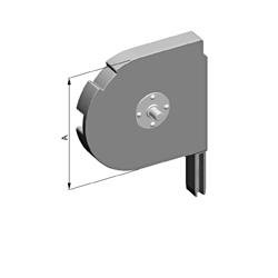 Крышка боковая роллетная SF-R/150/D