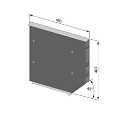 Крышка боковая роллетная стальная SF405/C